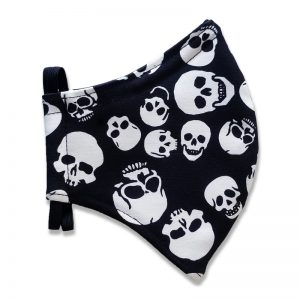 Black and White Skulls for Adults and Kids Face Mask