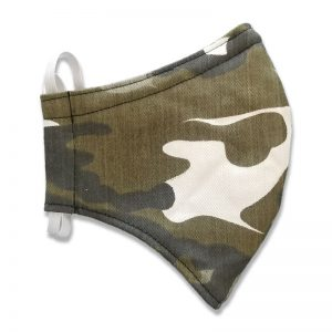 Light Camo Face Mask for Adults and Kids