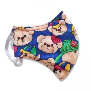 Kids Teddy Bear Face Mask