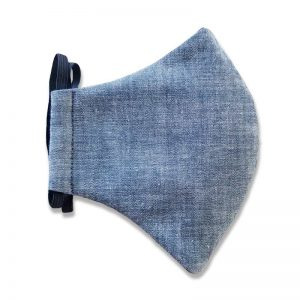 Chambray Face Mask for Kids and Adults